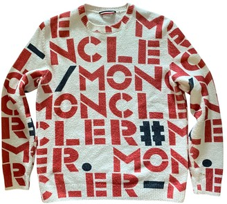 MONCLER GENIUS Moncler nA2 1952 + Valextra Ecru Cotton Knitwear & Sweatshirts