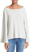 Elizabeth and James Women's Freja Flutter Sleeve Top