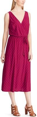 Chaps Women's Sleeveless V-Neck Dress