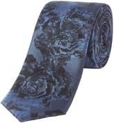 Kenneth Cole Kariya Floral Jaquard Silk Tie