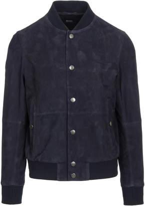 HUGO BOSS Aminor Leather Jacket