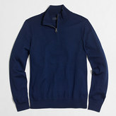 J.Crew Factory Merino wool half-zip sweater