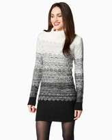 Charming charlie Cozy Ombre Sweater Dress