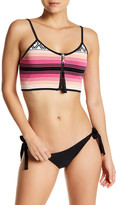 Lovers + Friends Melody Striped Bikini Top
