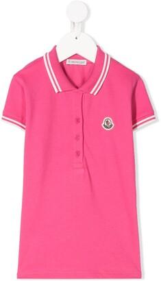 Moncler Enfant Stripe Detail Polo Shirt