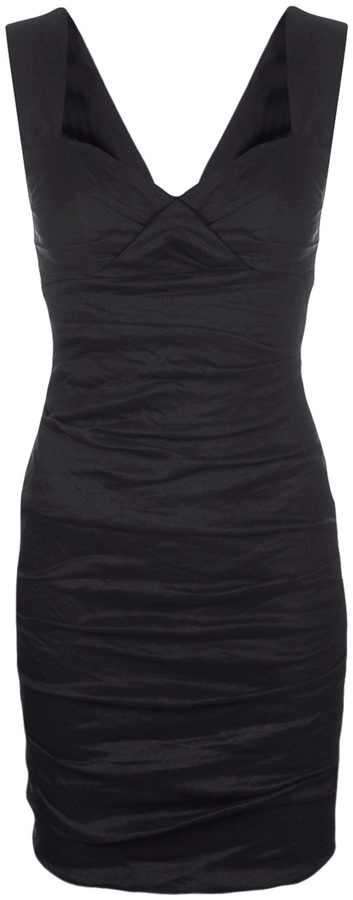 Nicole Miller Fitted sweetheart dress