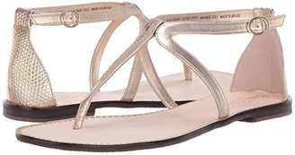 Lilly Pulitzer Heather Sandal (Gold Metallic) Women's Sandals