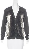 Lutz & Patmos Wool Embellished Cardigan