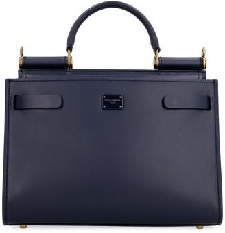 Dolce & Gabbana Sicily 62 Leather Tote