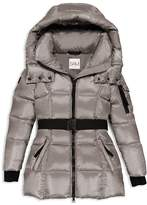 SAM. Girls' Belted Puffer Jacket - Little Kid