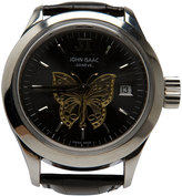 John Isaac Black Butterfly Watch