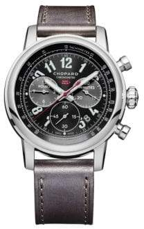 Chopard Mille Miglia 2016 Race Edition Stainless Steel& Leather Strap Watch