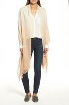 Caslon Women's Dip Dye Cashmere Wrap