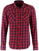 Ltb Rohan Slim Fit Shirt Red Plaid Wash