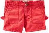 Osh Kosh Oshkosh Red Twill Shorts - Preschool Girls 4-6x