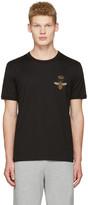 Dolce & Gabbana Black Crown Bee T-shirt