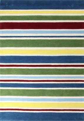 Unitex International Kidding Around-stripes Rug Primary