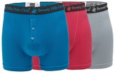 Beverly Hills Polo Club Pack Of Three Multi-coloured Boxer Briefs