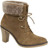 Johnston & Murphy Jasmine Lace Up Shearling Cuff