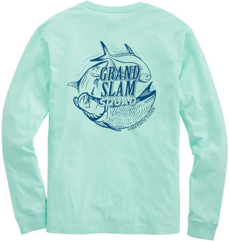 Vineyard Vines Grand Slam Squad Long-Sleeve Tee