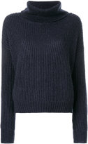Markus Lupfer roll neck ribbed pullover