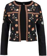 New Look EMBROIDERED TROPHY Blazer black