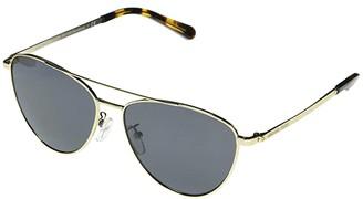 Michael Kors MK1056 Barcelona Aviator Sunglasses 58mm (Light Gold) Fashion Sunglasses