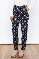 The Odells Ikat Ankle Zip Pants