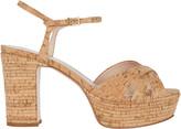 Schutz Darilia Cork Platform Sandals