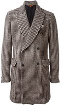 Barena double breasted coat - men - Silk/Cotton/Linen/Flax/Wool - 52