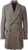 Barena double breasted coat - men - Wool/Polyamide/Silk/Cotton - 52