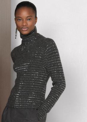 Ralph Lauren Embellished Cashmere Sweater