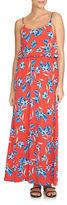 CeCe Sleeveless Floral Maxi Dress