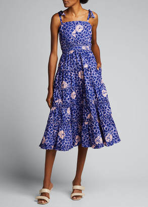 Ulla Johnson Eryn Printed Midi Dress