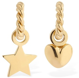 Isabel Lennse Lvr Exclusive Miss Matched Loop Earrings