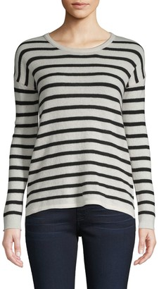 Amicale Striped Cashmere Sweater
