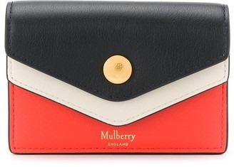 Mulberry Colour Block Card Holder
