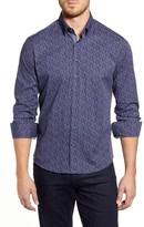 Stone Rose Regular Fit Floral Button-Up Sport Shirt