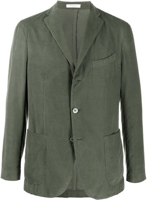 Boglioli Fitted Single Breasted Blazer
