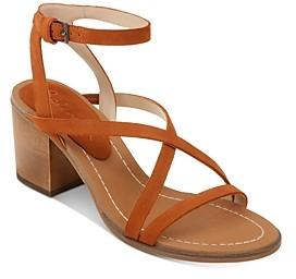 Splendid Women's Margie Strappy Mid-Heel Sandals