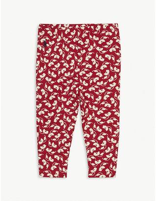 Ralph Lauren Floral-print cotton leggings 3-24 months