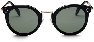 Celine 48MM Round Frame Sunglasses