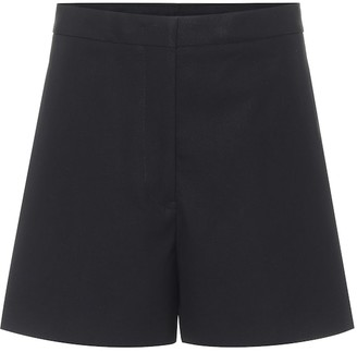 Jil Sander High-rise cotton shorts