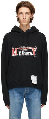 Miharayasuhiro Black Logo Hoodie