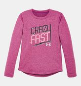 Under Armour Girls' Pre-School UA Crazy Fast Long Sleeve