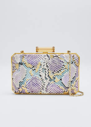 Judith Leiber Couture Soho Olivia Leather Clutch Bag