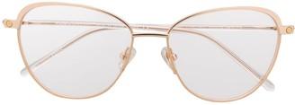 S'nob Madama cat-eye frame glasses