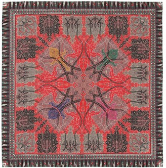 Etro Printed cashmere and silk scarf