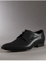 Autograph Leather Lace Up Derby Shoes