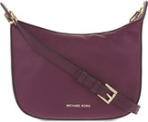 MICHAEL Michael Kors Raven leather messenger bag